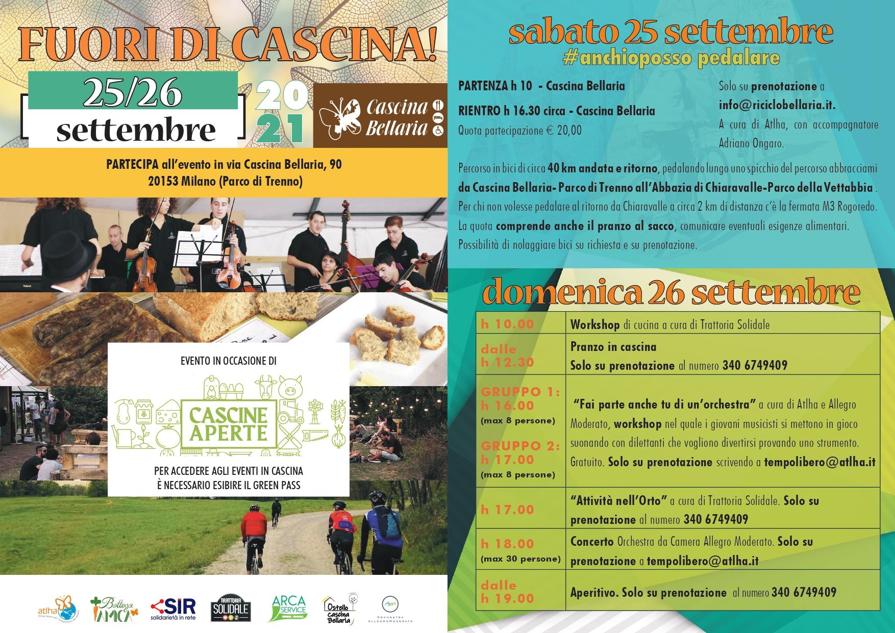 Cascine aperte 2021 - Cascina Bellaria